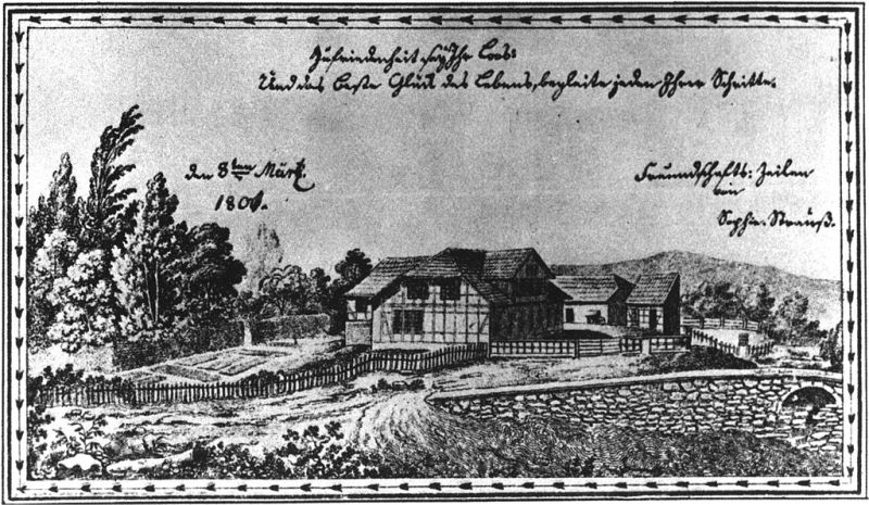 Museo Veterinario Complutense - Además de España, otros países siguieron el ejemplo de Bourgelat, creando escuelas de veterinaria. En la imagen, el Instituto Veterinario de la Universidad Georg-August de Göttingen, fundado en Alemania en 1771 (4).