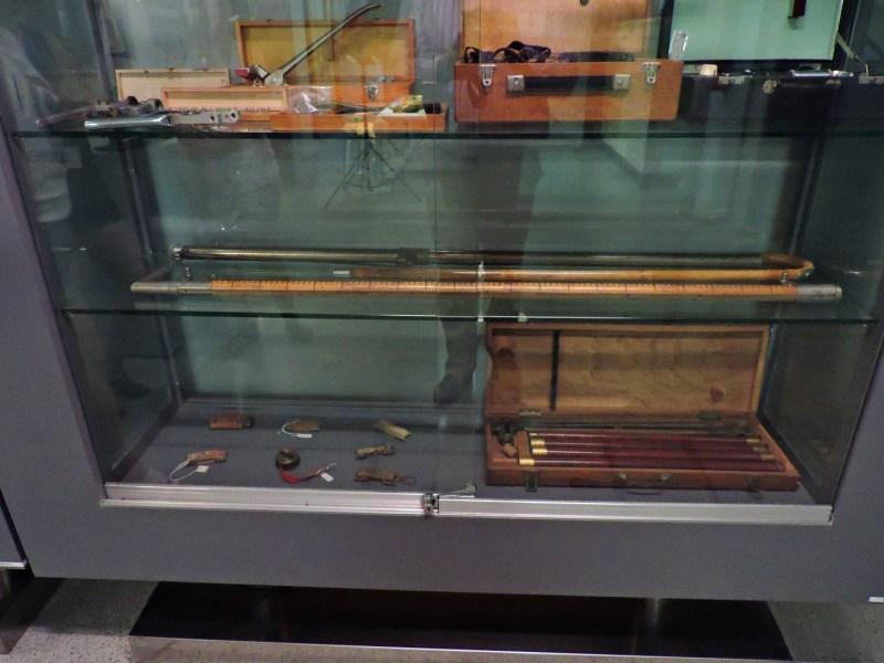 Museo Veterinario Complutense - Bastones hipométricos, para medir el tamaño de los caballos.