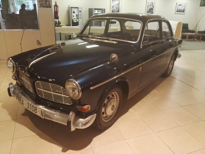 Museo Sala Team - Volvo 120, fabricado en los años 60.