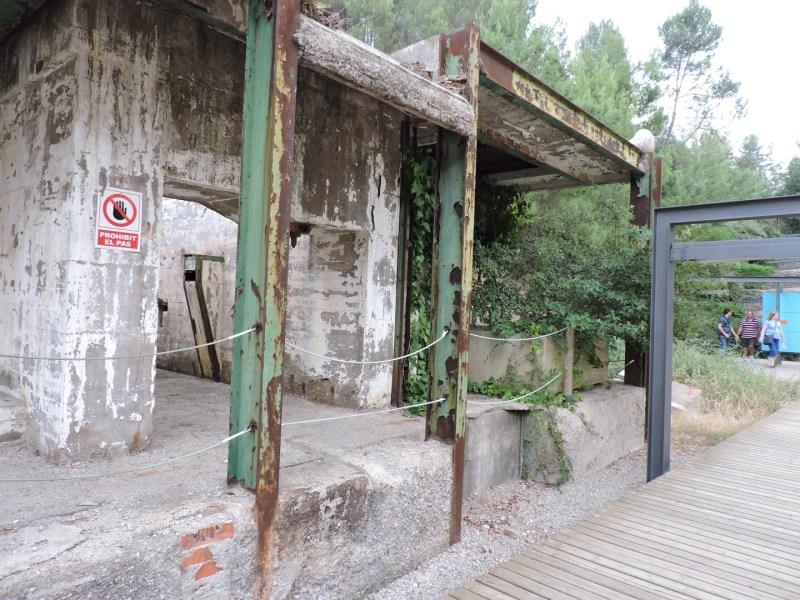 La Montaña de Sal - Antigua entrada a la mina Nieves.