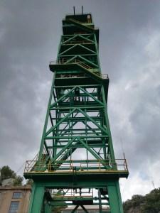 La Montaña de Sal - Castillete del pozo María Teresa.