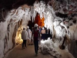 La Montaña de Sal - Interior de la mina.