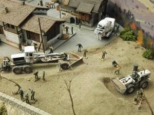 Museo de Miniaturas Militares - Misiones de paz del ejército español.