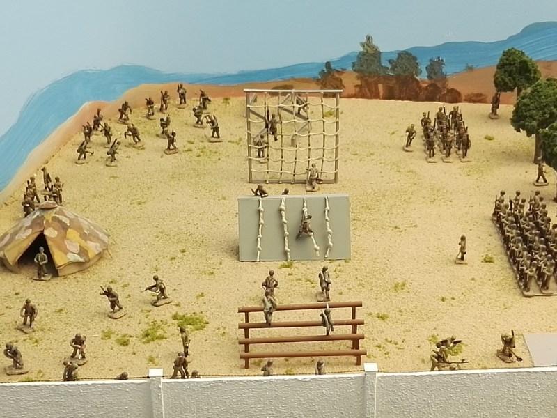 Museo de Miniaturas Militares - Ejército Español en los años 70.