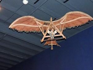 Museo del Aire - El ingeniero alemán Otto Lillienthal fue pionero del vuelo con planeador.
