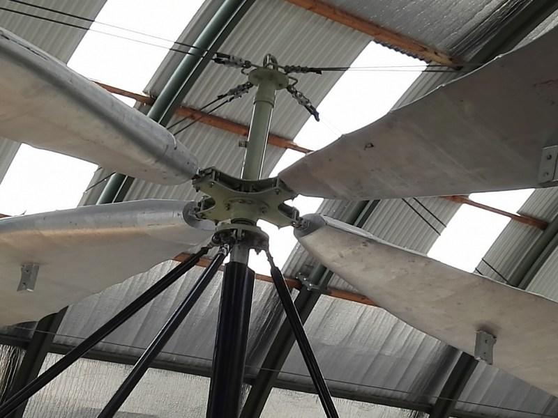 Museo del Aire - Rotor articulado del La Cierva C-6.