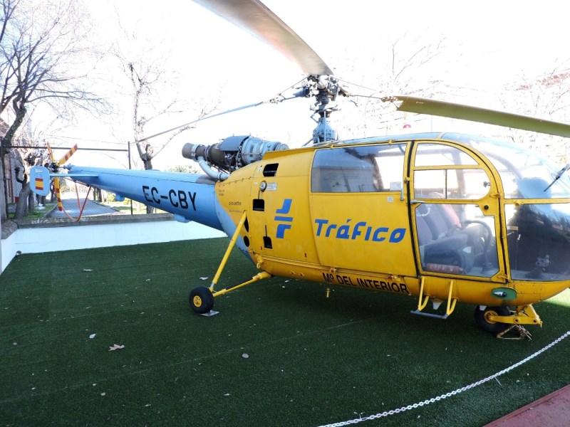 Museo del Aire - Aerospatiale SA-319 B Alouette III. El ejemplar del Museo participó en labores de salvamente en la tragedia de Los Alfaques.
