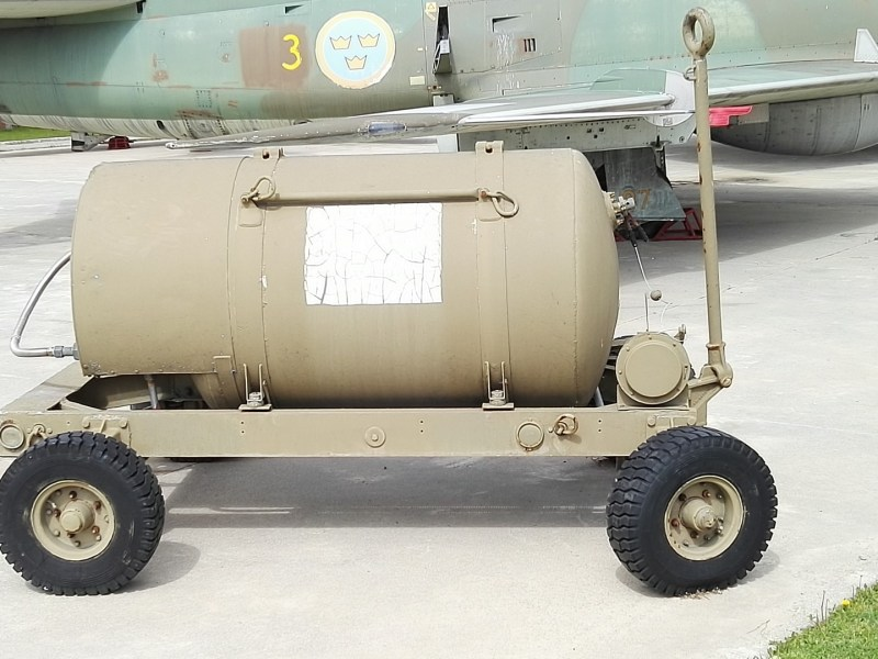 Museo del Aire - Cisterna de combustible.