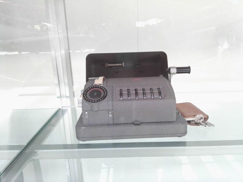 Museo del Aire - Maquina cifradora.