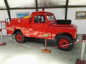 Museo del Aire - Land Rover anti-incendios.