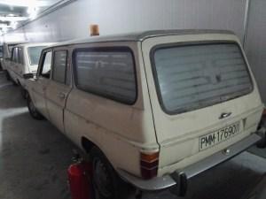 Almacén del MUNCYT - Simca 1200 Familiar, en versión ambulancia.