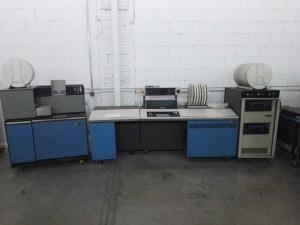 Almacén del MUNCYT - Computadora IBM 1130, fabricada en 1965. Primer ordenador de bajo coste de IBM.