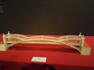 Maquetas y Modelos Históricos - Puente sobre el río Lignon, construido por Vergniais.