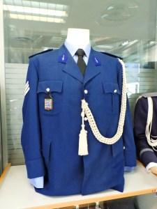 Museo Policía de Madrid - Chaqueta de policía holandesa.