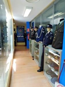 Museo Policía de Madrid - Sala-museo de la IPA, dentro del Museo de la Policía Municipal de Madrid.