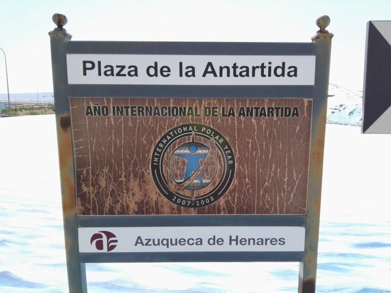 Rotonda de la Antártida - El Año Polar Internacional es una iniciativa mundial para fomentar el estudio de los polos. 2007-2008 ha sido el 4º API en 125 años.