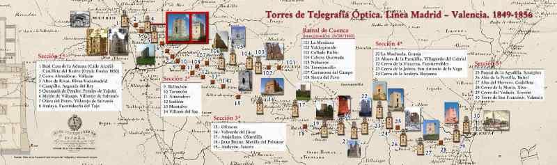 El telégrafo óptico - Línea telegráfica Madrid - Valencia (12).