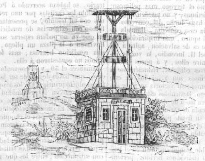 El telégrafo óptico - Sistema telegráfico usado en la Primera Guerra Carlista (9).