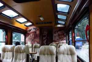 Viajar en tren a Machu Picchu