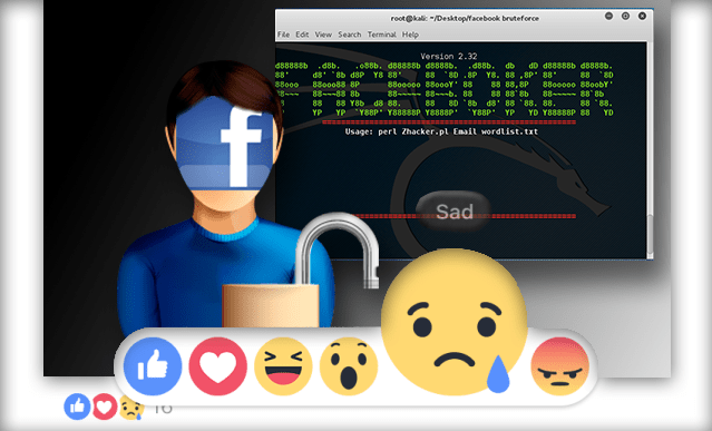 Faceboker - Brute force para facebook