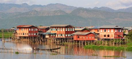 Barca guia en tailandia Burma