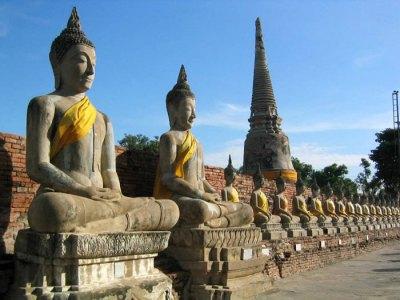 wat yai Ayutthaya templos