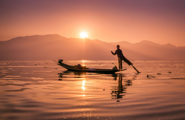 Lago Inle ingles guia en tailandia Myanmar