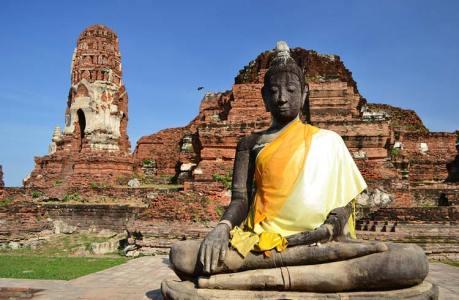 mahatat Ayutthayah templos