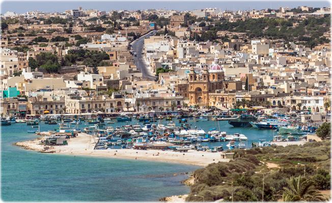 Marsaxlokk. Malta