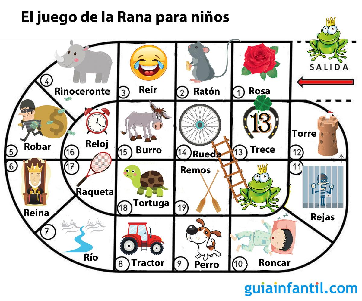 El Juego De La Rana Para Ninos Con Problemas Con La Letra R