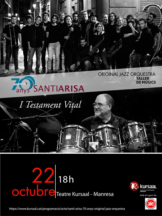 Santi Arisa teatre Kursaal 22 d'octbre