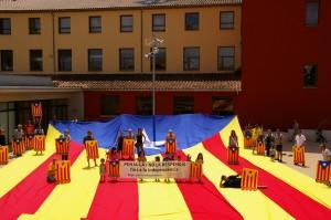 L'Estelada de l'ANC del Bages a Sant Joan de Vilatorrada