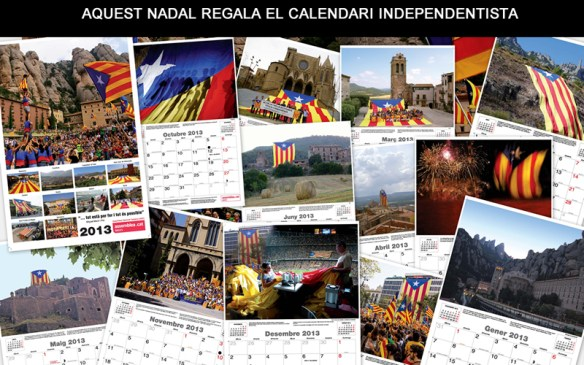 Calendari 2013 del Bages per la Independència