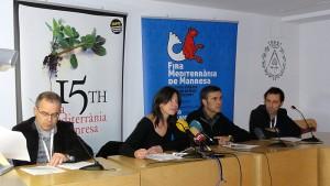 Roda de premsa fira Mediterrània 2012