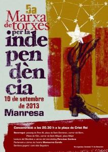5a Marxa de Torxes per  la Independència