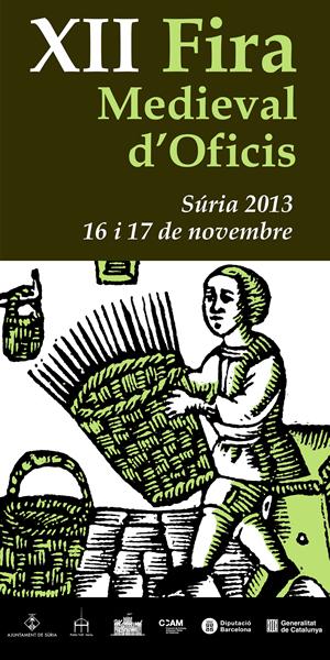 2013 11 17 Cartell Fira Medieval d'Oficis de Súria