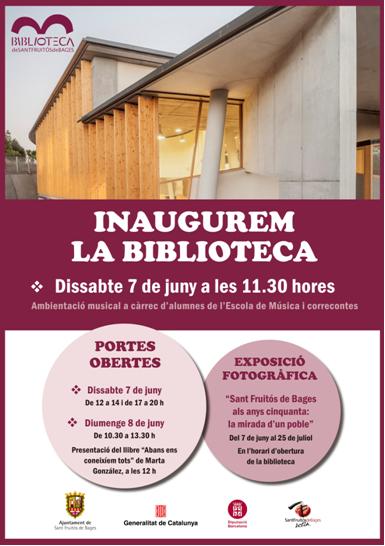 Biblioteca Sant Fruitós de Bages