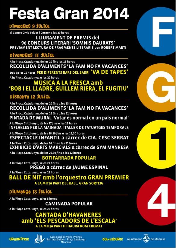 cartell festagran 2014