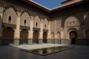 Madraçal de Ben Youssef em Marrakech