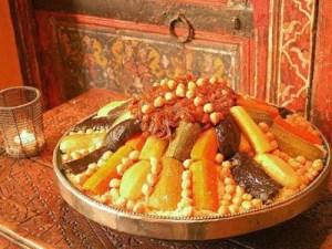 O famoso cuscuz marroquino