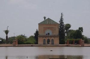 Jardins Menara em Marraquexe