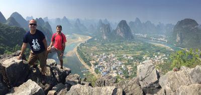 Xingping desde Laozhai