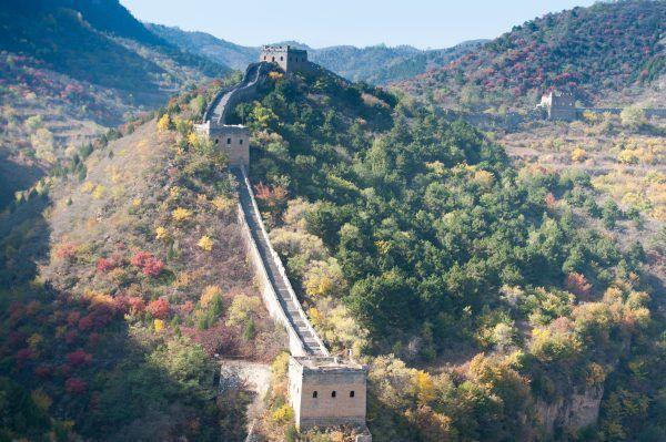 La Gran Muralla China en Simatai