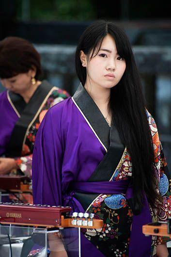 Mujer en Nikko