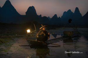 pescadores en xingping