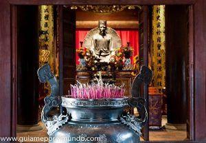 templo literatura en hanoi
