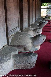 Tortugas en Templo de la Literatura