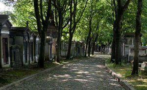 Calles Cementerio de Père Lachaise