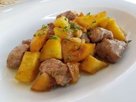 lagartito con patatas Varipinto Barbate
