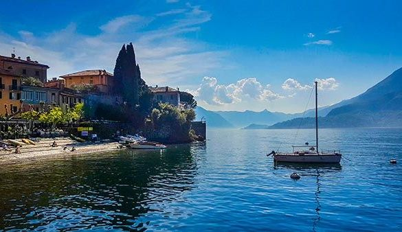 Varenna en el Lago Como